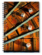 Mad For Mahjong Spiral Notebook