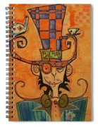 Mad Hatter Spiral Notebook
