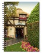 Mad Hatter Fantasyland Disneyland 01 Spiral Notebook