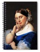 Madame Delphine Ingres Spiral Notebook