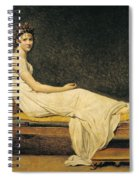 Madame Recamier Spiral Notebook