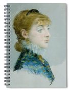 Mademoiselle Lucie Delabigne Spiral Notebook