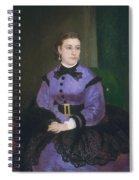 Mademoiselle Sicot Spiral Notebook
