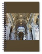 Maderno's Nave Ceiling Spiral Notebook