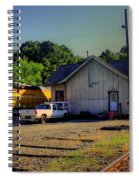 Madison Georgia Historic Train Station Spiral Notebook