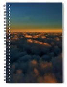Madison Wi Sunset At 30000 Spiral Notebook
