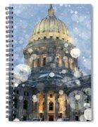 Madisonian Winter Spiral Notebook