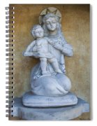 Madonna And Child Carmel Mission Monterey California Spiral Notebook