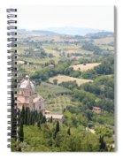 Madonna Di San Biagio Tuscany Spiral Notebook