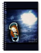 Madonna Lightens The Earth Spiral Notebook