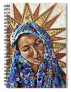 Madonna Of The Dispossessed Spiral Notebook