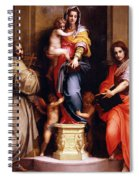 Madonna Of The Harpies Spiral Notebook