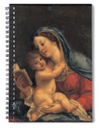 Madonna With The Child Spiral Notebook