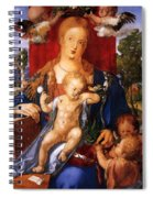 Madonna With The Siskin Spiral Notebook