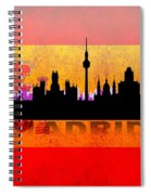 Madrid City Spiral Notebook
