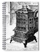 Magazine Stove, 1880 Spiral Notebook
