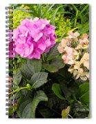 Magenta Flow Spiral Notebook