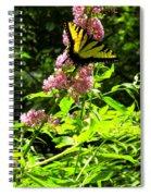 Magenta Perch Spiral Notebook