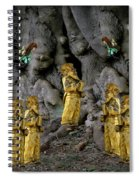 Magic As The Tree People Celebrate Health Spiral Notebook