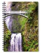 Magic At Multnomah Falls Spiral Notebook