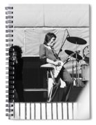 Magic Dick And J. Geils In Oakland 1976 Spiral Notebook
