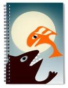 Magic Fish Spiral Notebook