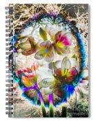 Magic Flowering Spiral Notebook