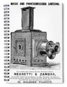 Magic Lantern, 1891 Spiral Notebook