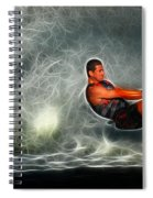 Water Skiing Magical Waters 2 Spiral Notebook