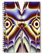 Magic Owl Spiral Notebook