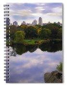 Magical 1 - Central Park - New York Spiral Notebook