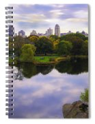 Magical 2 - Central Park - Nyc Spiral Notebook