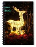 Magical Christmas Spiral Notebook