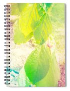 Magical Leaves Spiral Notebook
