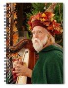 Magical Minstrel Spiral Notebook
