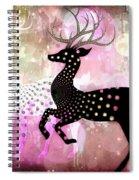 Magical Reindeers Spiral Notebook