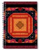 Magical Rune Mandala Spiral Notebook