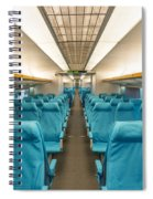 Maglev Train In Shanghai China Spiral Notebook