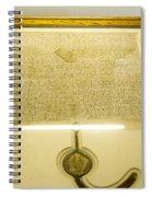 Magna Carta Spiral Notebook