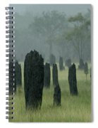 Magnetic Termite Mounds Spiral Notebook