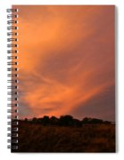 Magnificent Evening Spiral Notebook
