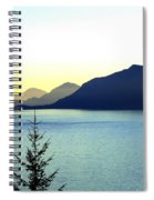 Magnificent Howe Sound Spiral Notebook