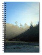 Magnificent Light One Spiral Notebook