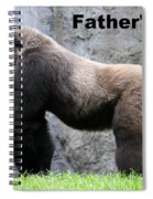 Magnificent Male Spiral Notebook