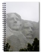 Magnificent Mount Rushmore Spiral Notebook