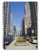 Magnifiscent Mile Spiral Notebook