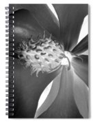 Magnolia Blossom - Photopower 2476 Bw Spiral Notebook