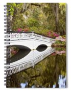 Magnolia Gardens' Bridge Spiral Notebook