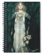 Magnolia Spiral Notebook