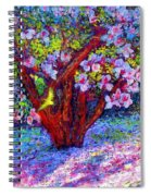 Magnolia Melody Spiral Notebook